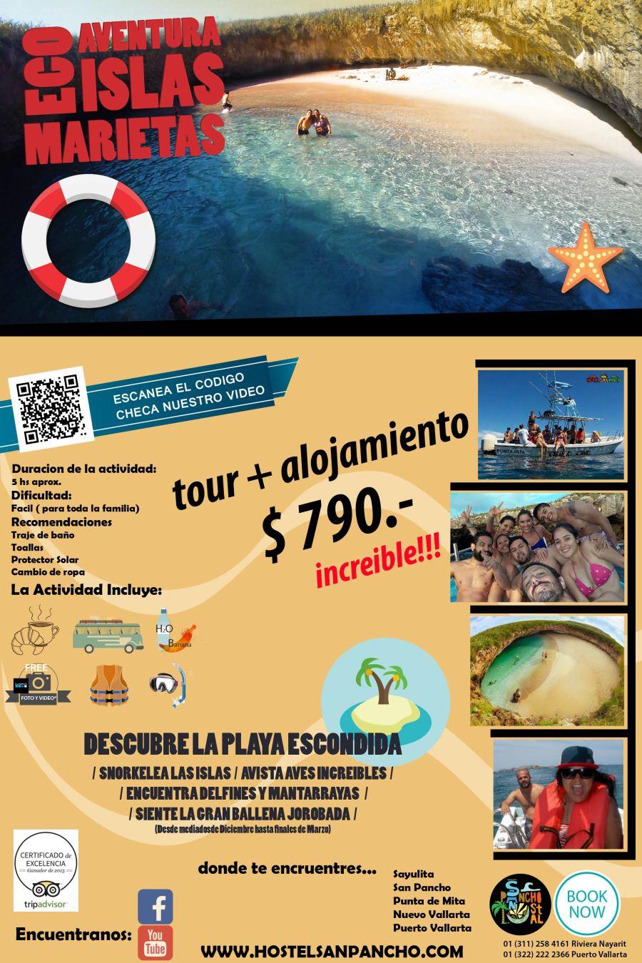 poster islas marietas promo 790-01